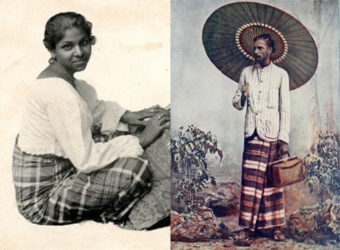 Photo: Sinhalese people.