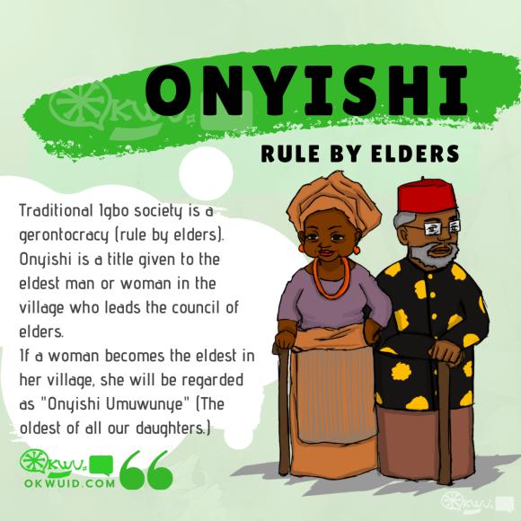 Onyishi - Igbo