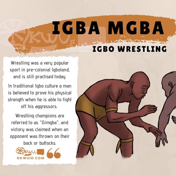 Igba Mgba - Igbo Wrestling